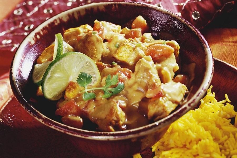 Indian Saffron Chicken Curry - saffronplace dot com
