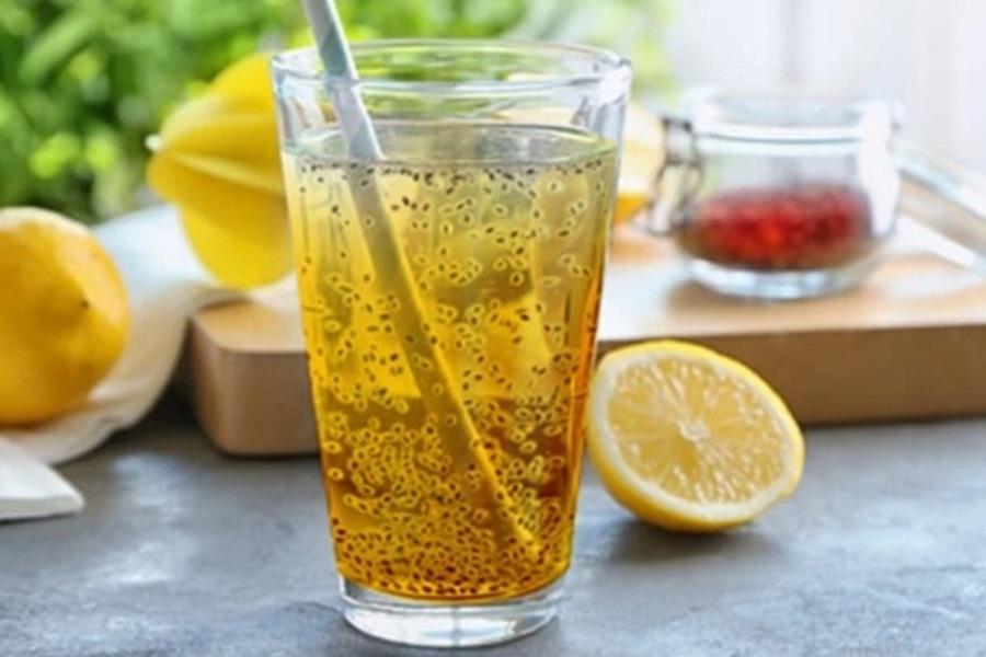 Saffron and Chia Seed Drink - saffronplace com